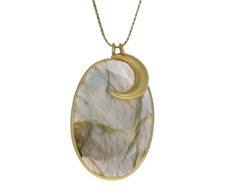Labradorite and Gold