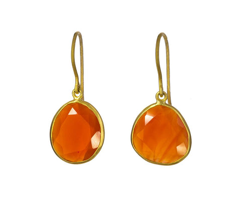 Carnelian Single Colette Earrings - TWISTonline