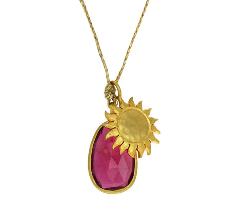 Ruby Hello Sunshine Colette Necklace