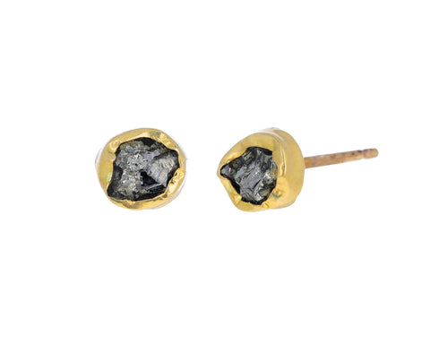 Pyrite Dazzle Stud Earrings