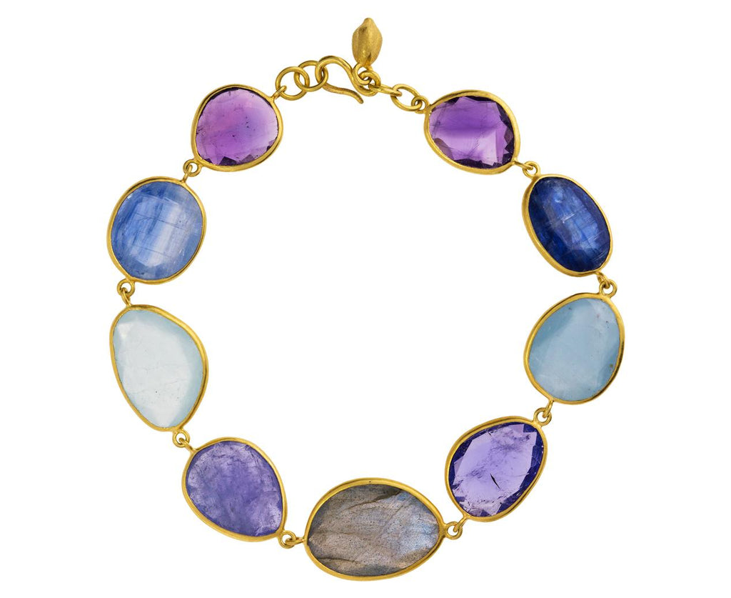 Pacific Blues Mixed Stone Bracelet - TWISTonline