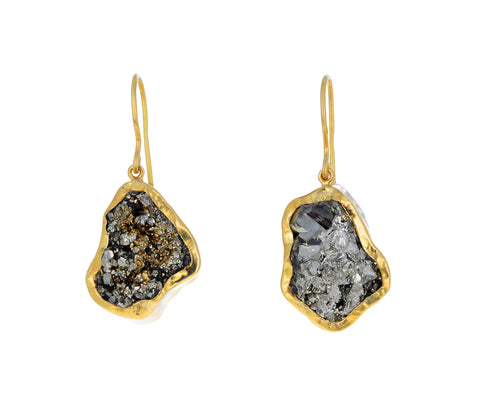 Pyrite Dazzle Drop Earrings