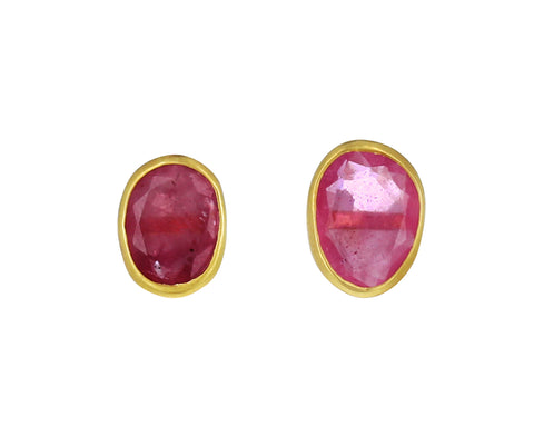 Ruby Rosy Dawn Earrings