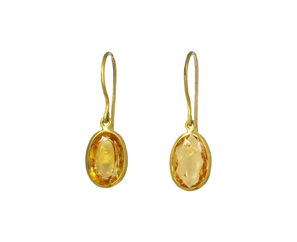 Citrine Drop Earrings - TWISTonline