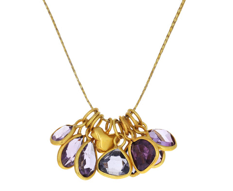 Mixed Spinel Nandar Colette Pendant Necklace