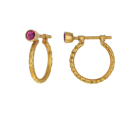 Spinel Aaqine Small Hoop Earrings
