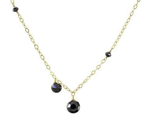 Black Diamond Dangle Necklace zoom 1-pippa-small-necklace