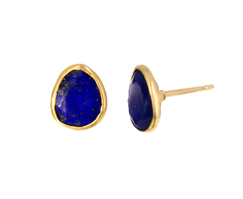 Lapis Colette Stud Earrings
