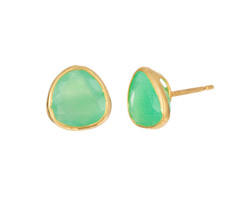 Chrysoprase Collete Earrings