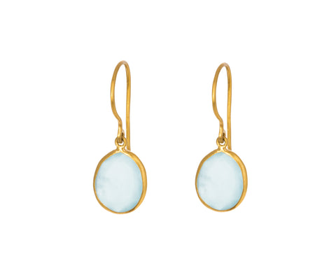 Aquamarine Colette Earrings - TWISTonline