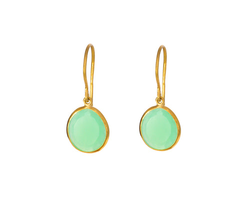 Chrysoprase Colette Drop Earrings