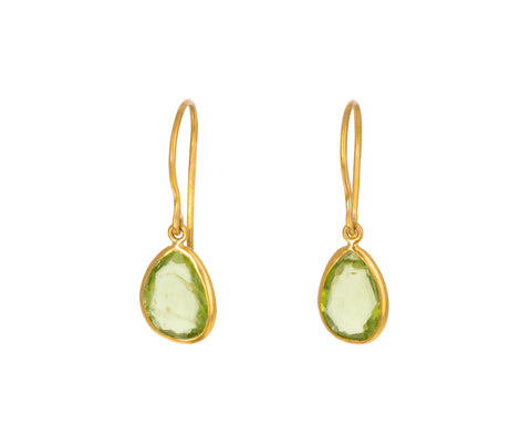 Peridot Colette Dangle Earrings