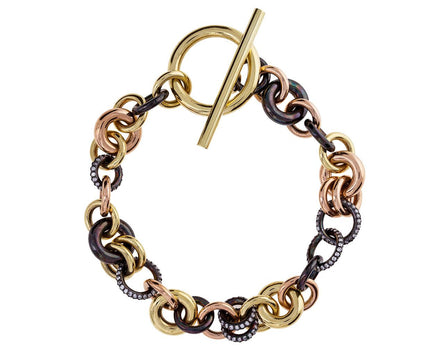 Avalon Multi-Link Chain Bracelet with Diamonds - TWISTonline