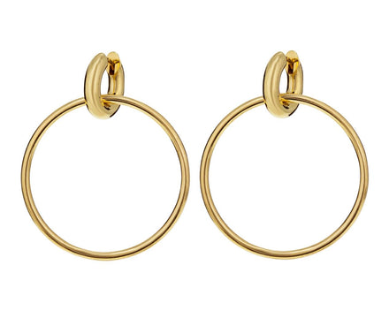 Yellow Gold Casseus Earrings - TWISTonline