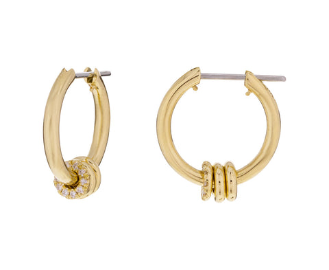 Diamond Ara Hoops - TWISTonline