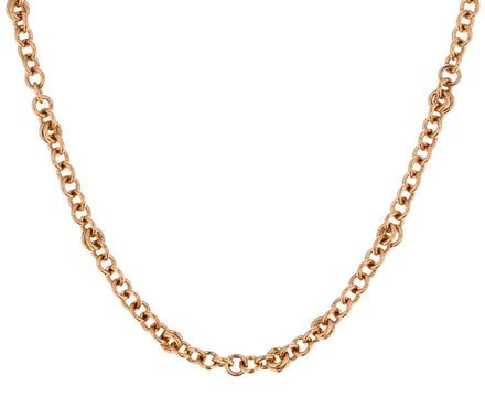 Yellow Gold Gravity Chain Necklace - TWISTonline