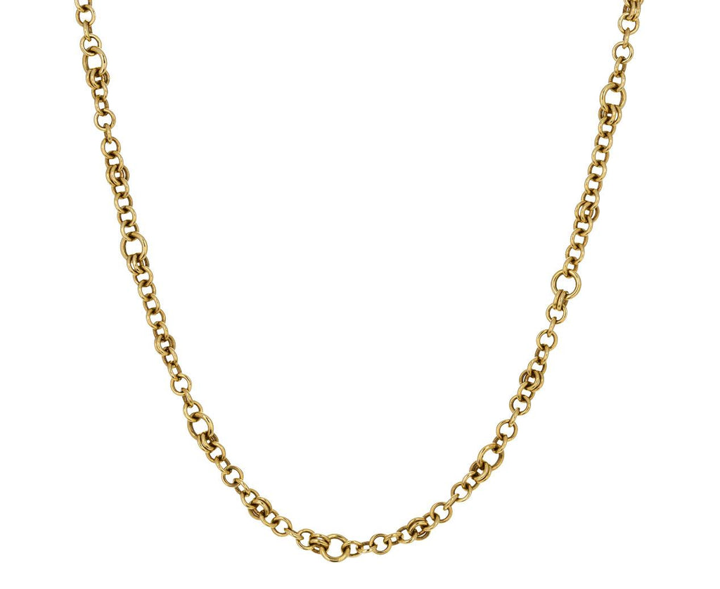 Gold Gravity Chain Necklace - TWISTonline