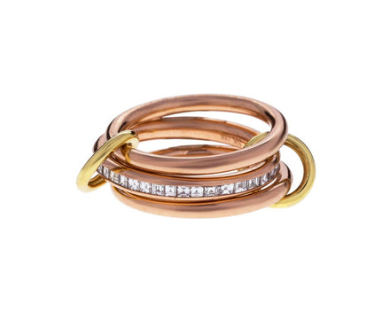 Rose Gold Diamond Rene Ring - TWISTonline