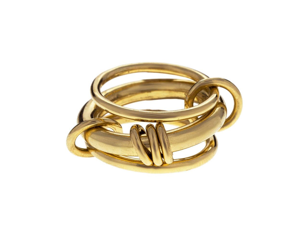 Yellow Gold Gemini Ring - TWISTonline