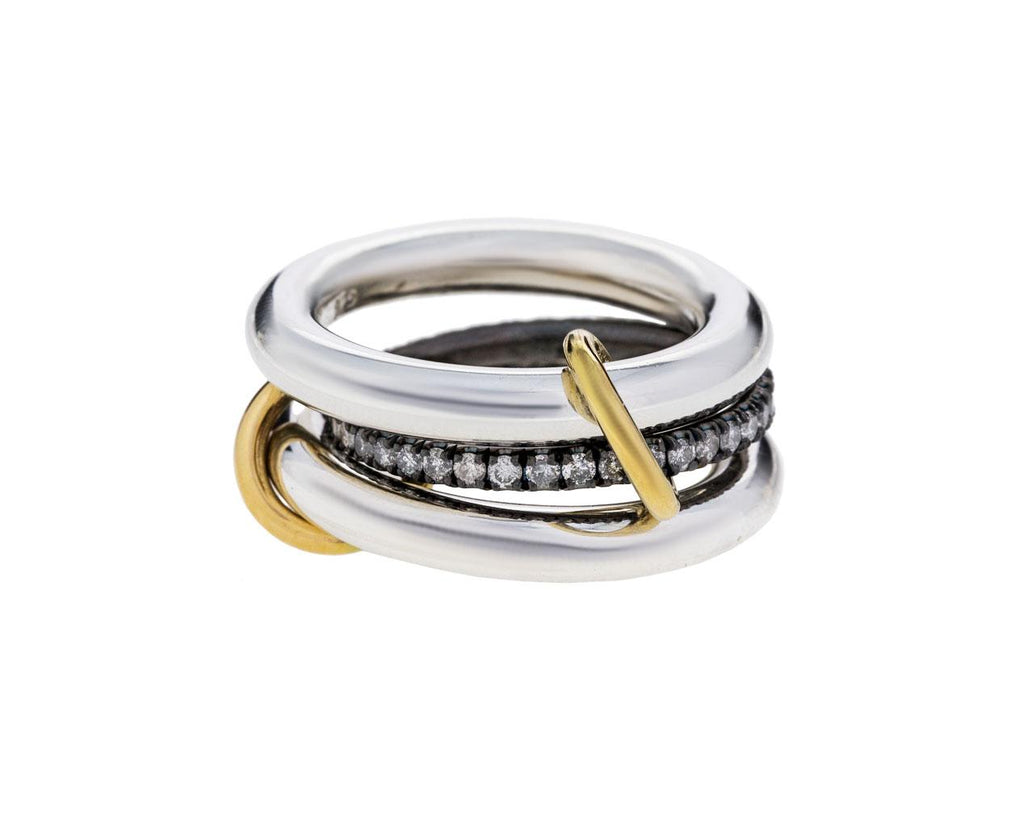 Libra Noir Ring - TWISTonline