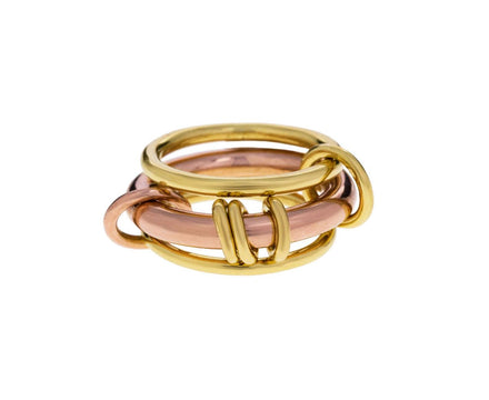 Gemini Rose Three Band Ring - TWISTonline