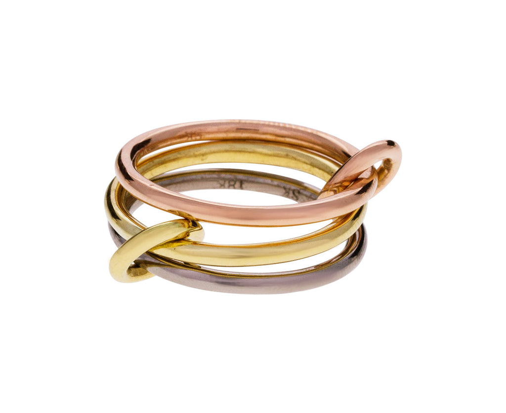 Mixed Gold Azalea Ring - TWISTonline