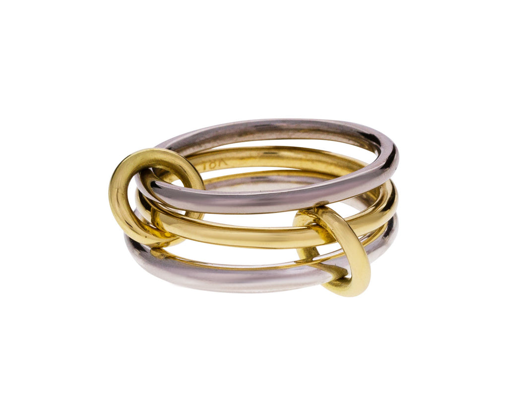 Silver and Gold Fauna Ring - TWISTonline