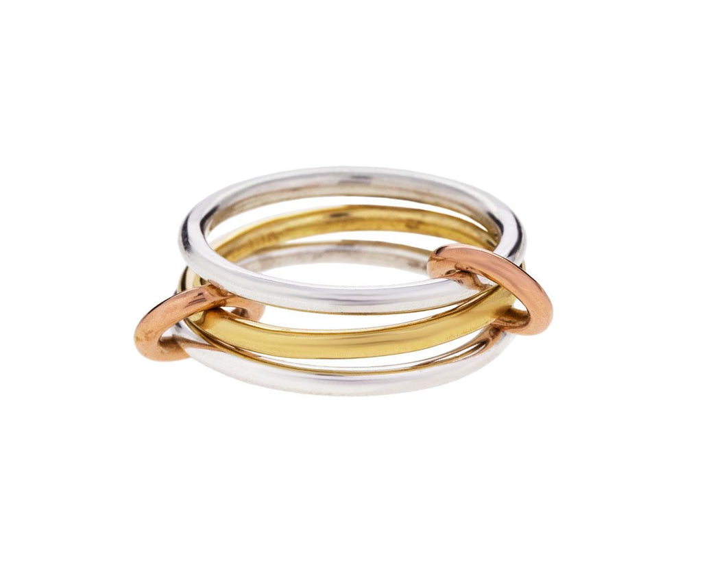 Mixed Metal Solarium Ring - TWISTonline