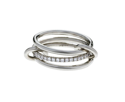 White Gold Diamond Sonny Blanc Ring - TWISTonline
