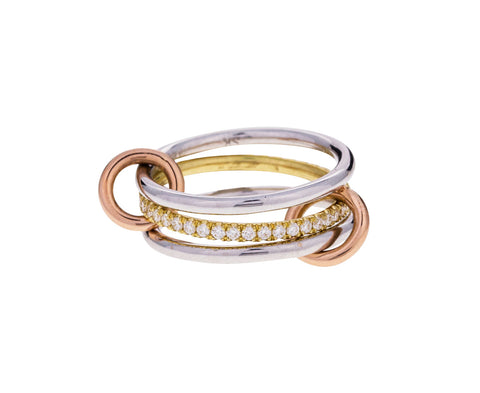 Sonny Mixed Three Band Ring - TWISTonline