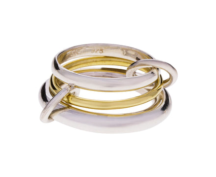 Silver and Gold Amarylis Ring - TWISTonline