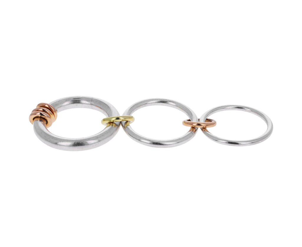 Triple Silver and Gold Orion Ring