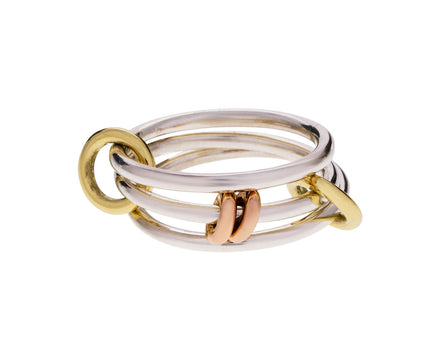Silver and Gold Acacia Ring - TWISTonline