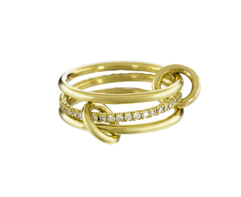 Gold and Diamond Triple Sonny Ring zoom 1_spinelli_kilcollin_gold_diamond_sonny_ring