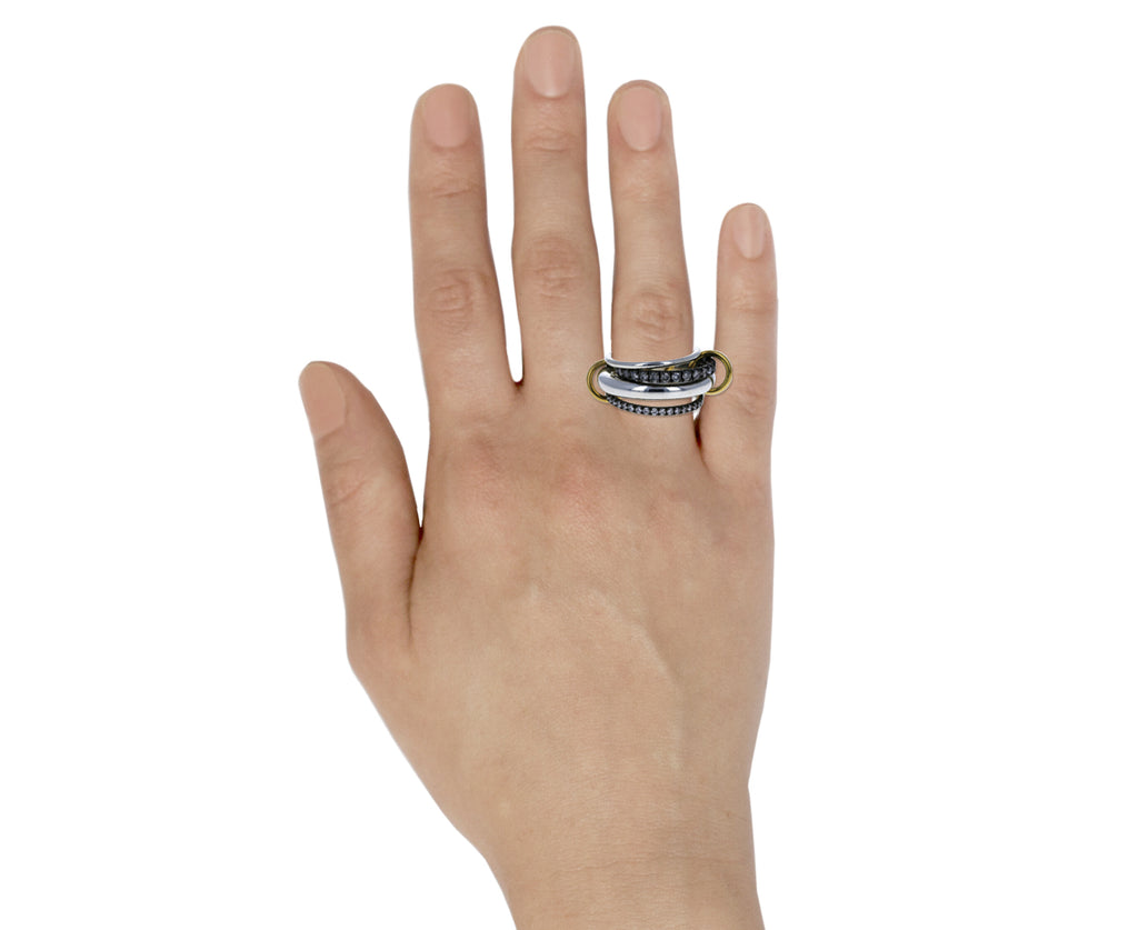 Cassini Four Band Stacking Ring