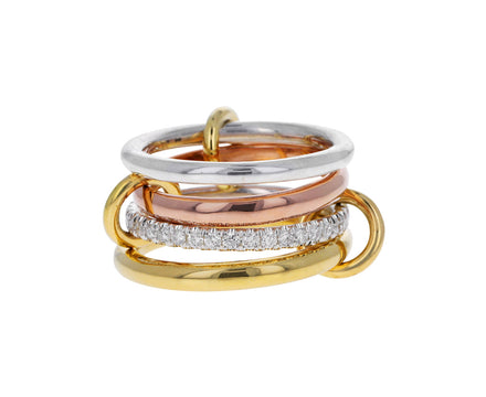 Diamond Cancer Deu Four Linked Rings