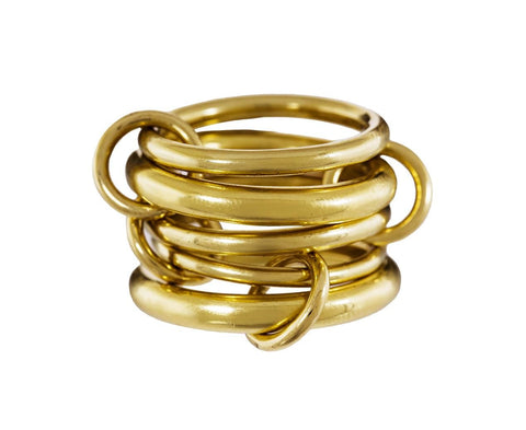 Vela Gold Ring - TWISTonline