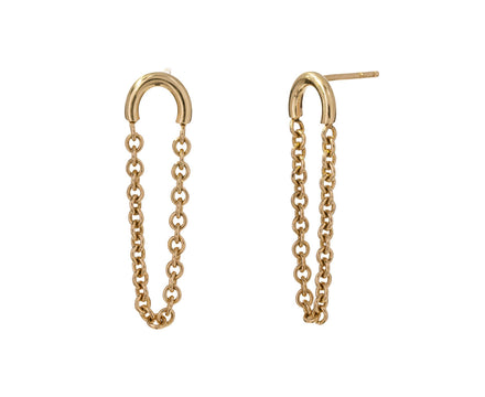 Arc and Chain Earrings - TWISTonline