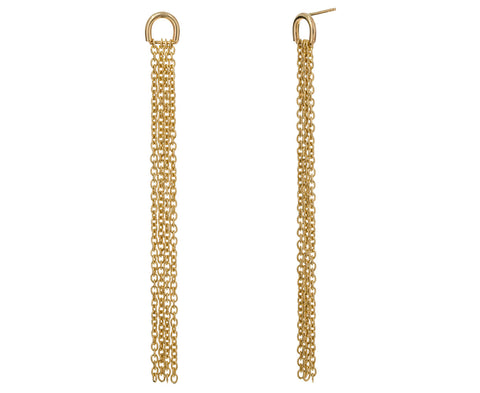Long Chain Drop Earrings