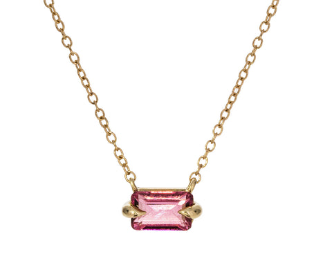 Magenta Tourmaline Necklace