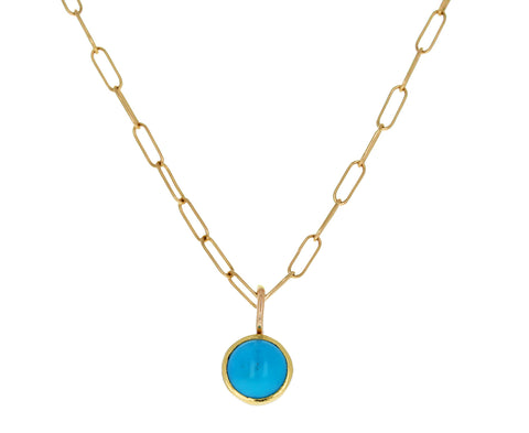 Turquoise Pendant Necklace - TWISTonline
