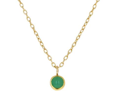 Chrysoprase Pendant Necklace - TWISTonline