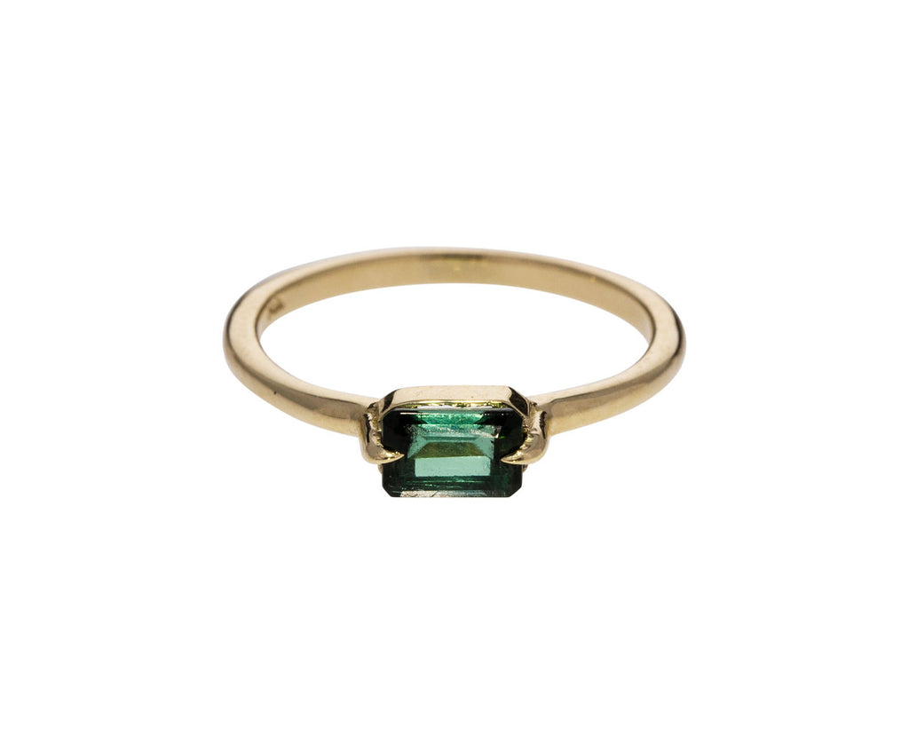 Dark Green Tourmaline Ring - TWISTonline