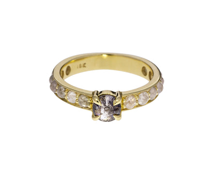 Salt and Pepper Diamond Solitaire - TWISTonline