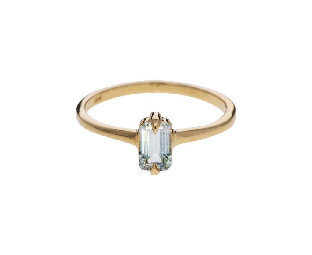 Pale Blue Tourmaline Ring