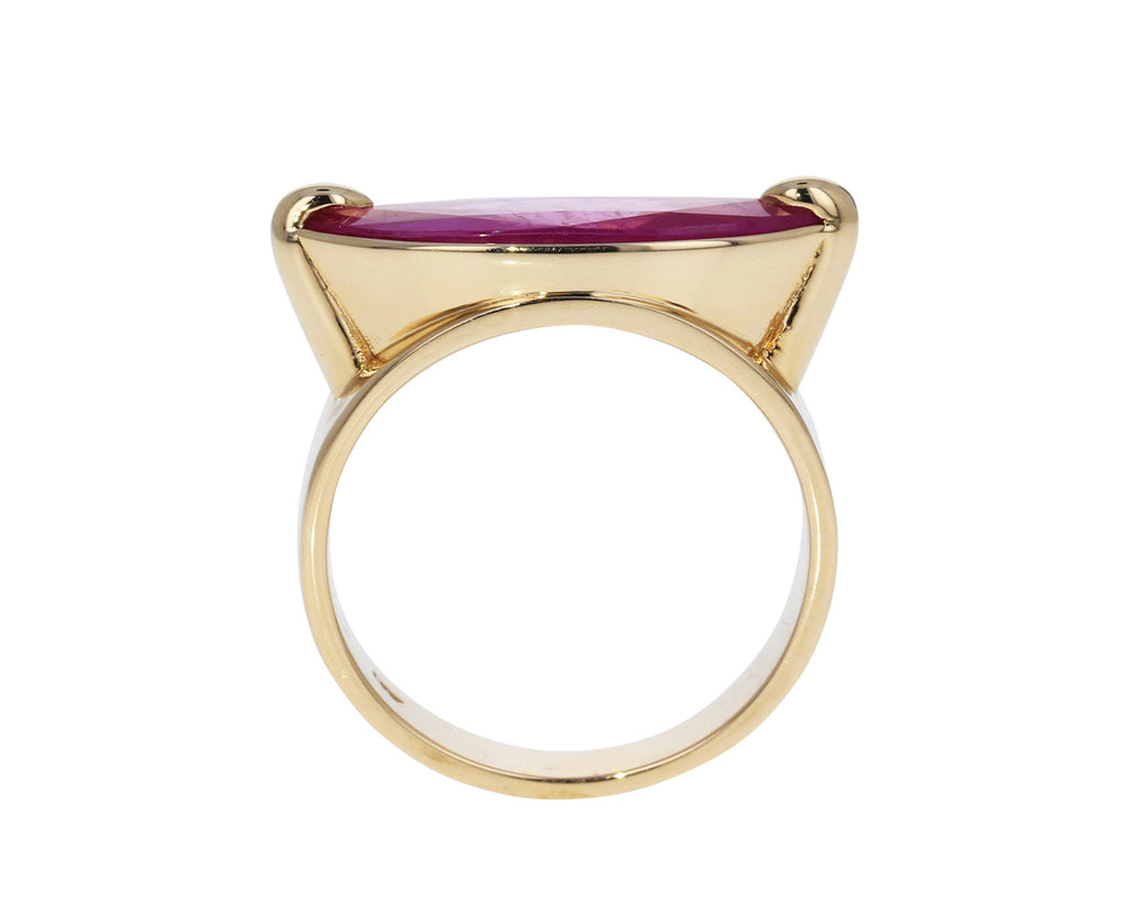 Large Ruby Ring - TWISTonline