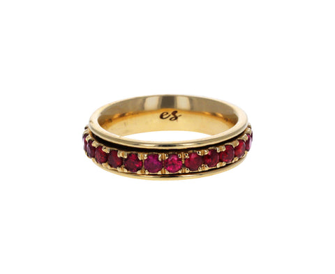 Ruby Spinner Ring
