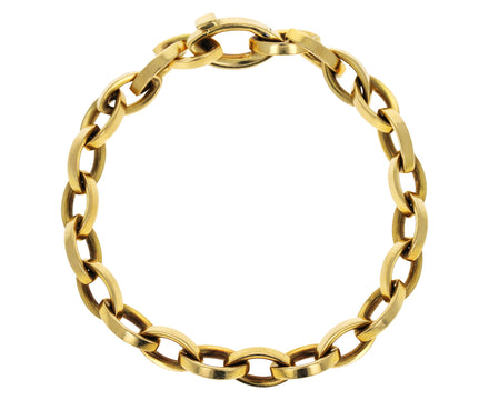 Gold Vintage Tiffany & Co Chain Bracelet
