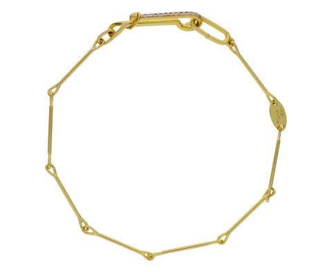 Diamond Needle Eye Chain Bracelet - TWISTonline