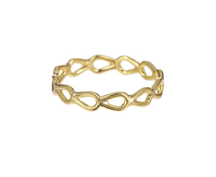 Yellow Gold Pear Lace Ring - TWISTonline
